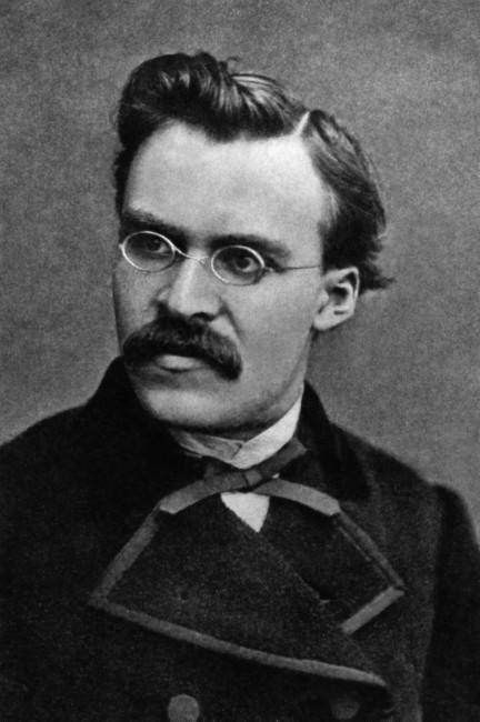 The German philosopher Friedrich Nietzsche