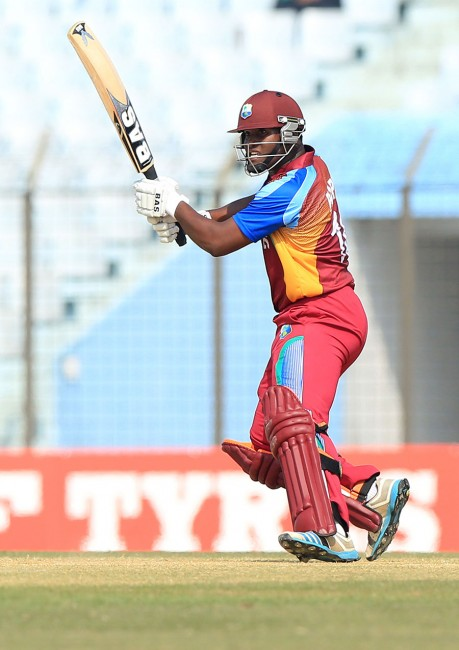 Opener Gidron Pope made a classy half-century.