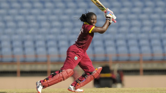 during the 2nd T20i West Indies Women v Pakistan Women at Grenada National Stadium, St. George's, Grenada on Saturday, October 31, 2015. Photo by WICB Media/Randy Brooks of Brooks Latouche Photography