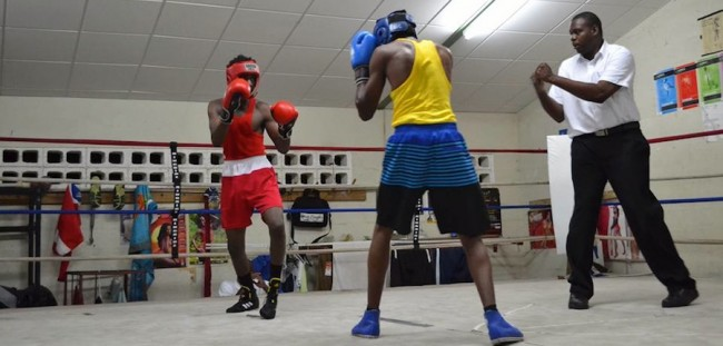 A number of young boxers got some much needed practice over the weekend at the boxing gym.