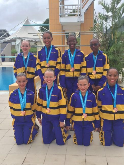 BarbadosXsynchronizedXswimXteam.