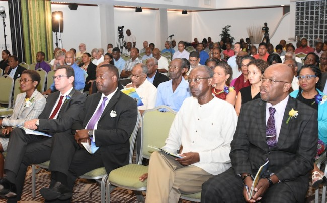 Government representatives, financial officials and academics attended the FTC lecture.