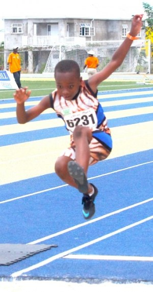Joshua Moore of West Terrace was victor ludorum in the under-nine boys' division.