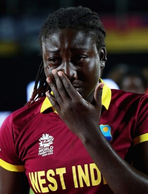 West Indies Women took the narrow loss hard.