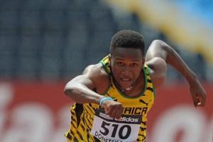 Jaheel Hyde of Jamaica