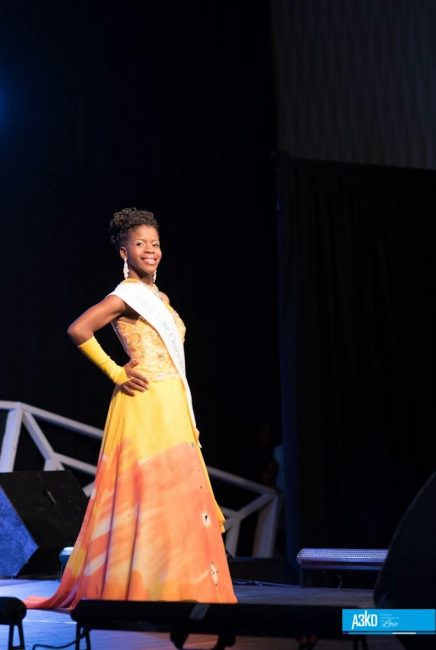 Dalecia Boyce appearing in Evening Wear at the Shine Like A Diamond Pageant.