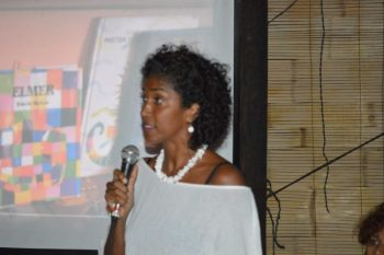 Author and co-founder of Grenada Community Library, Oonya Kempadoo.