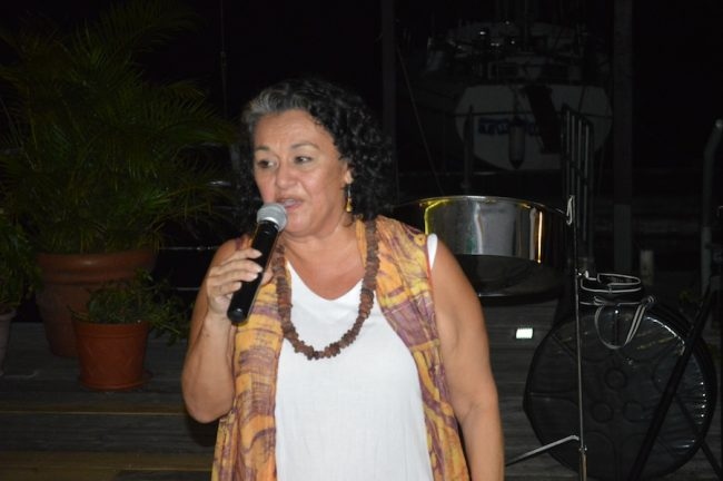 Magdalena Fielden, founder of the Grenada Chocolate Festival.
