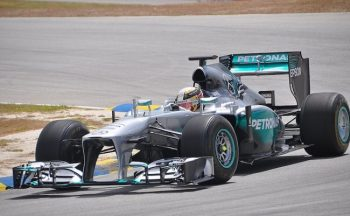 Lewis Hamilton was the star attraction at the Barbados Festival of Speed.