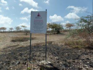 Newton Slave Burial Ground.
