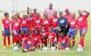 Charles F Broome won their first ever National Sports Council Primary Schools Football Competition.