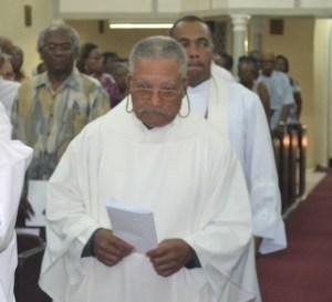 Rev. Mylon Springer and Rev. Mark Harewood.