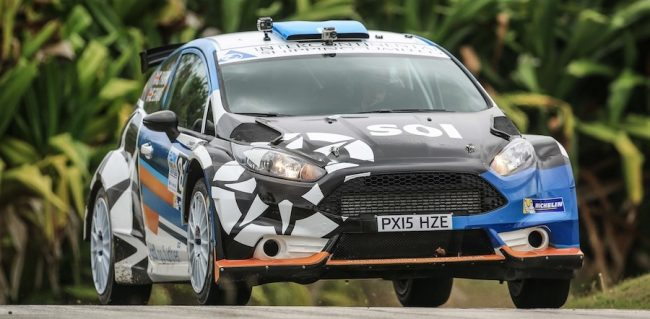 Elfyn Evans and Craig Parry are the number one seeds for this weekend's Sol Barbados Rally.