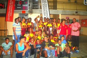 Harrison College are the National Sports Council's Co-operators General Insurance U-16 Basketball Double Crown Champions when they won both the Knockout and League titles.