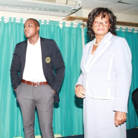 At times during thursday night's session, NUPW President Akanni McDowall and General Secretary Roslyn Smith appeared to be poles apart.