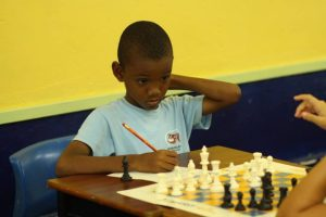 Jadyn Gill is the Under-10 chess champion.