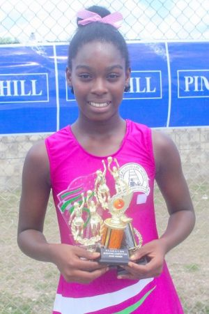 St Giles Primary star performer Serena Edwards top scored with 18 goals in the final.(Pictures by Morissa Lindsay)