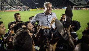 Tite led Corinthians to the league title in 2011 and 2015.