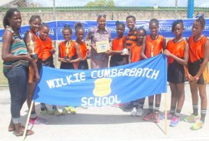 Wilkie Cumberbatch Primary did not only top the Marion Johnson- Hurley and Carolyn Sinckler Zone they also came second in the team shooting competition.