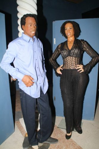 Lil Rick and Alison Hinds