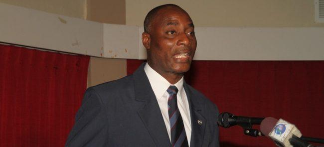 President of the Barbados Police Association Mervin Grace