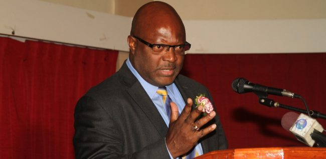 Minister of Home Affairs Adriel Brathwaite