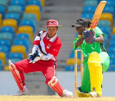Jamaica's Stafanie Talyor (right) and Trinidad and Tobago's Merissa Aguilleira are two of the West Indies stars expected to do well for their teams.
