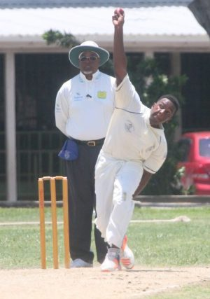 Matthew Forde top scored with 68 and took one wicket for Combermere