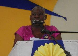 Principal of A DaCosta Edwards Primary Laureen Hinds gave an overview of the academic year.