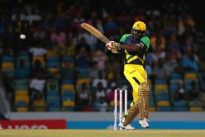 Chris Gayle in action.