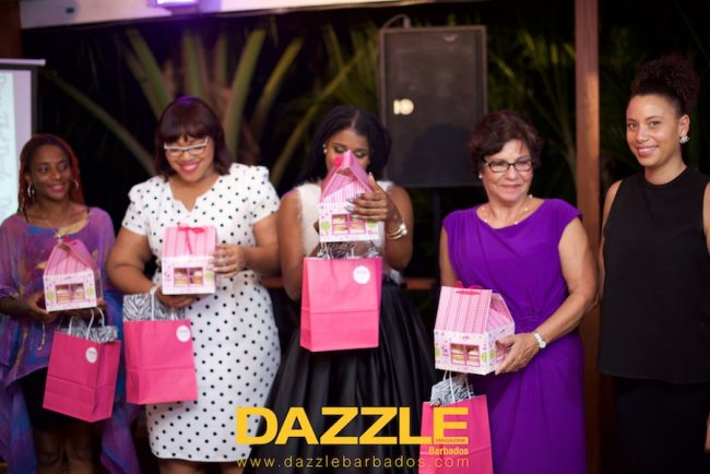 The presentation to the speakers of the 2015 Divas that Dazzle Seminar.