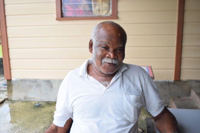 St George resident  Clyde Waithe.