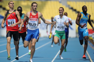 Denis Alexeev's failed drug test means Russia has also been ordered to return their Olympic 4 X 400m relay.
