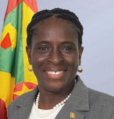 Grenada's Minister of Tourism Clarice Modeste
