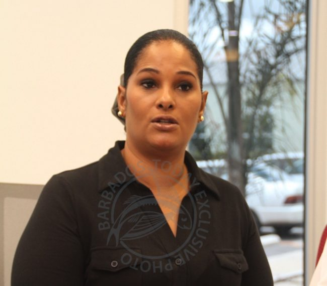 Corporate Communication Specialist at The Barbados Water Authority Joy-Ann Haigh