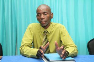 NUPW Senior Industrial Relations Officer Wayne Walrond