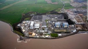 The Hinkley Point B nuclear power plant in southwest England. The UK government struck a deal with France's EDF and China's CGN to build a new plant in the area.