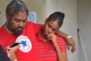 Son Charles Holder and granddaughter Tianna Holder talk of the late Gordon Alleyne.