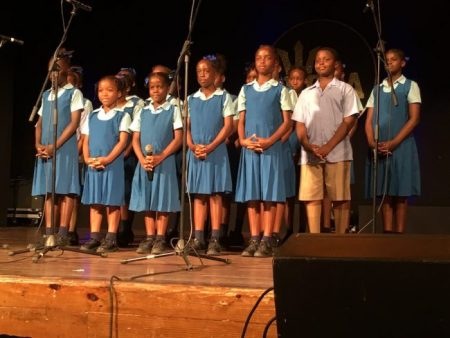 Mount Tabor Primary singing This Too Shall Pass.