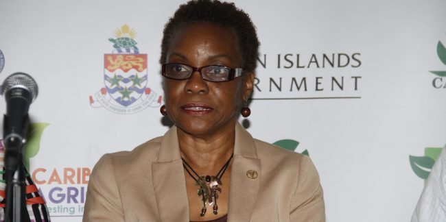 Lystra Fletcher-Paul, the Food and Agriculture Organization's sub-regional coordinator for the Caribbean