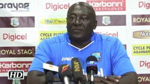 Roddy Estwick says young Windies team will get better.