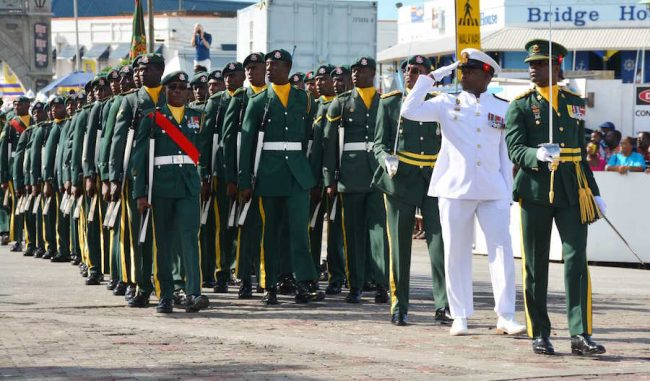 The Barbados Defence Force.