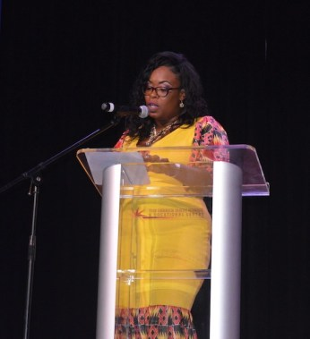 The director of the Pageant Tonia Husbands.