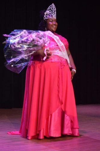 Gale-Ann Williams, winner of Miss Big & Beautiful Pageant.