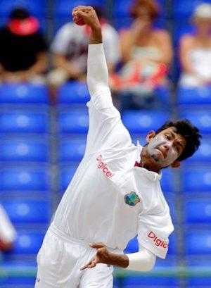Devendra Bishoo was West Indies leading bowler in the UAE.