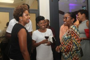 Some of the patrons at the official launch of the Classical/Pops Barbados Festival at Apes Hill Club recently.