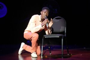 Tarique Griffith gave a heartfelt performance of For One Night Only.