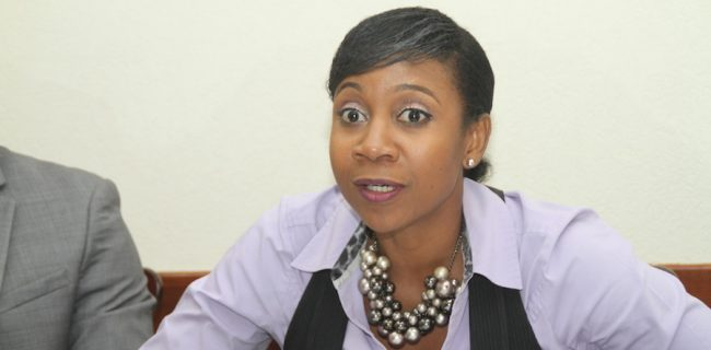 President of the Barbados Bar Association Liesel Weekes