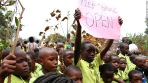 Many students, parents and teachers protested after Uganda's High Court ordered the closure of low-cost private schools.