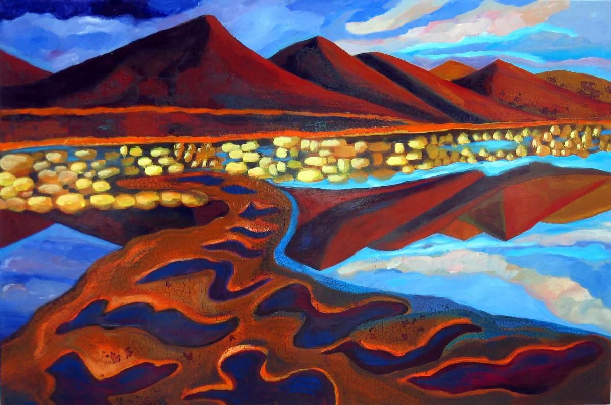 Spiegelungen, 2006, 110x165 2